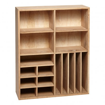 Hübsch Wall-mounted Multi-compartment Shelf-listing