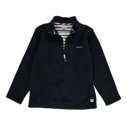 Armor Lux Sweater Polar Cuello Cremallera Titouan-listing