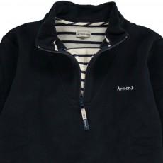 Armor Lux Fleece-Sweatshirt mit Zip-Kragen Titouan -listing