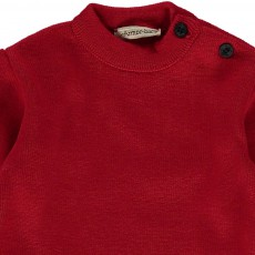 Armor Lux Einfarbiger Matrosen Pullover Fouesnant-listing