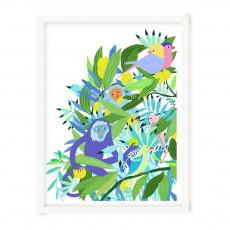 """Little Cabari Affiche dyptique """"Maroola"""" edition limitée 50x65 cm Little Cabari x Les Petits Collectionneurs-listing"""