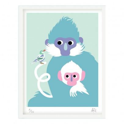 Little Cabari 30x45cm Monkey Poster-listing