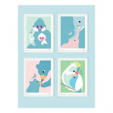 Little Cabari 30x45cm Bear Poster-listing