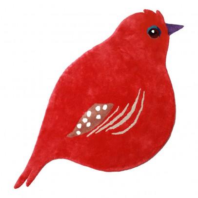 Little Cabari Cardinal Bird Rug-listing