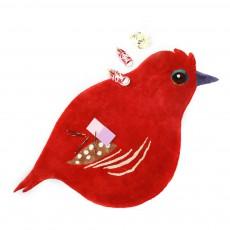 Little Cabari Tapis oiseau Cardinal-listing