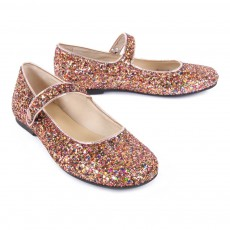 Manuela de Juan  Robin Glitter Mary Jane Shoes-listing