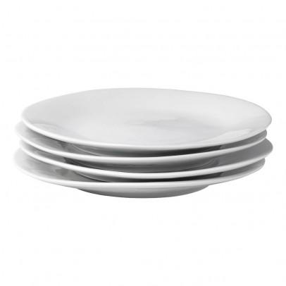 Tse & Tse Assiettes plates 24 cm Affamées en porcelaine - vendues par 6-listing