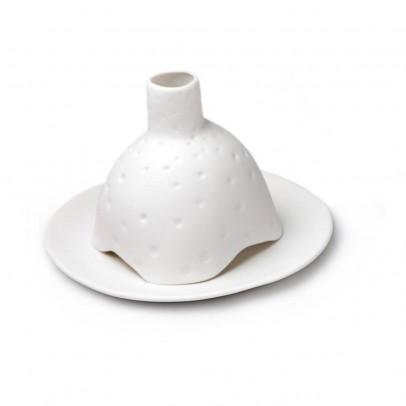 Tse & Tse Photophore Igloo criblé en porcelaine mate-listing