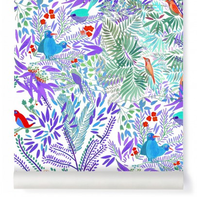 Little Cabari Papel pintado Jazz Acqua-listing
