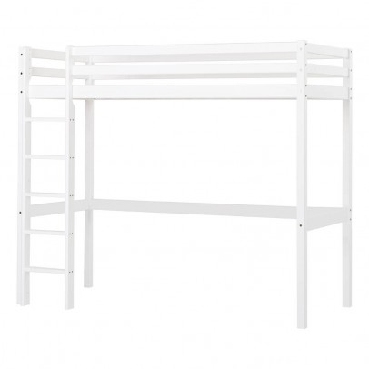 Hoppekids Basic High Loft Bed with Ladder 90x200 cm-listing