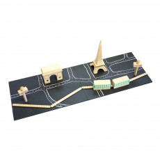 product-Kiko+ Machi Paris Magnetic Wooden Game
