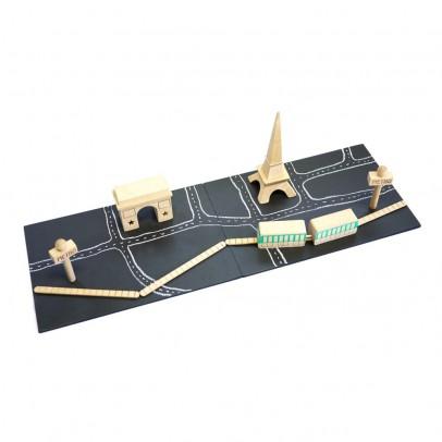 Kiko+ Jeu en bois aimanté Machi Paris-listing