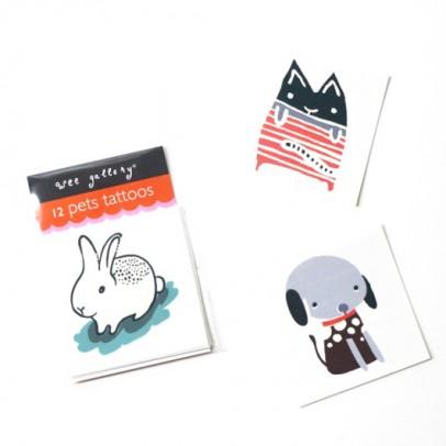 Wee Gallery Tatoo Animales-listing