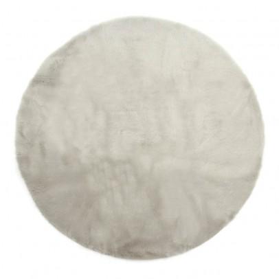 Pilepoil Tapis rond - Gris clair-listing