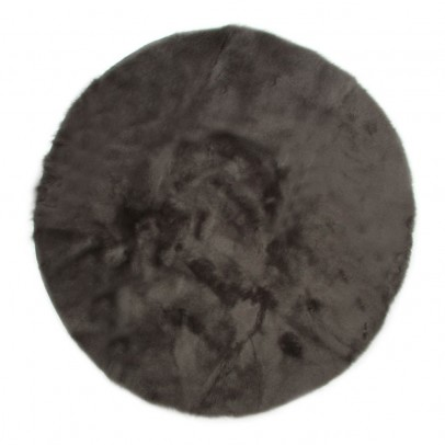 Pilepoil Round carpet - Light grey-listing