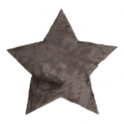 Pilepoil Tapis étoile - Gris foncé-listing