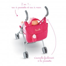 Corolle Cerise Doll Pushchair Bag-listing