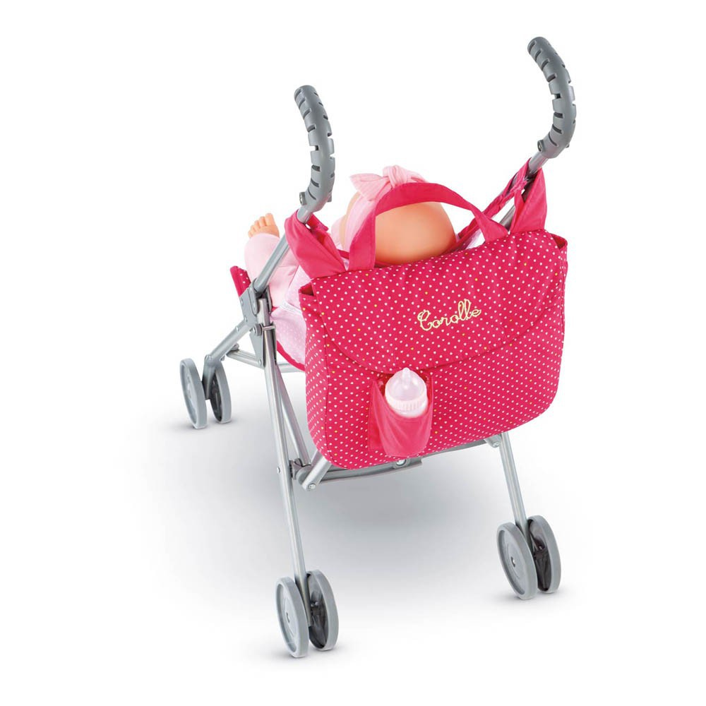 Cerise Doll Pushchair Bag-product
