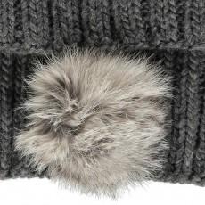 Petit Nord Fur Pompom Tube Scarf-listing