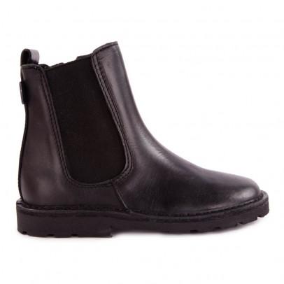 Diggers Chelsea Leder-Boots mit Reißverschluss-listing