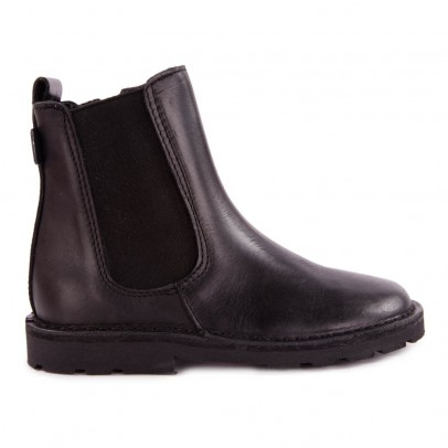 Diggers Leather Zip-up Chelsea Boots-listing