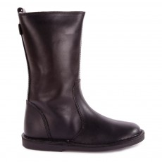 product-Diggers Digg's Fur Leather Mid Boots