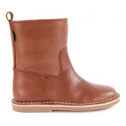 Diggers Ankle Leder-Boots mit Reißverschluss-listing