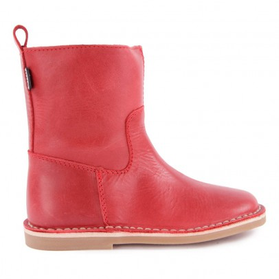 Diggers Zip Leather Ankle Boots-listing