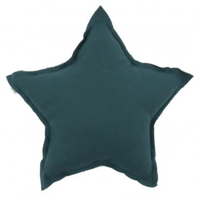 Numero 74 Cojín estrella - Azul petróleo-listing