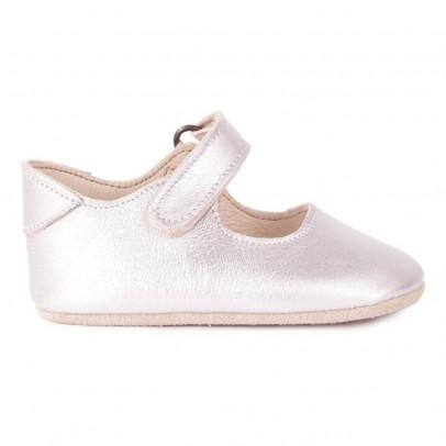 Petit Nord Velcro Ballerina Slippers-listing