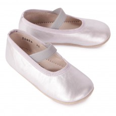 Petit Nord Chaussons Ballerines Cuir Elastique-listing