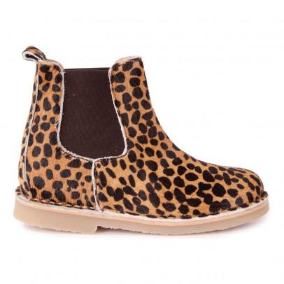 Petit Nord Leopard Chelsea Boots-listing
