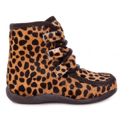 Petit Nord Botas Piel Estampado Leopardo-listing