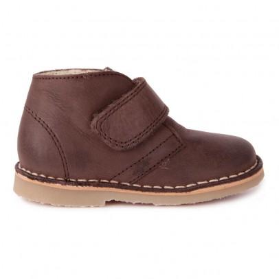 Petit Nord Desert Boots Suède Scratch Fourrées-listing