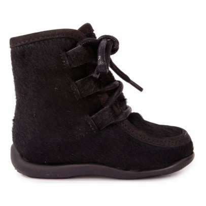 Petit Nord Fur Lace-up Boots-listing