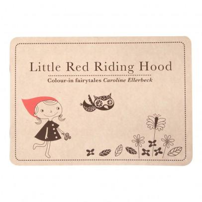 Caroline Ellerbeck Conte à colorier anglais Le Petit Chaperon rouge-listing