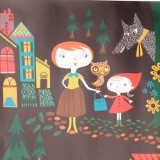 Caroline Ellerbeck Little Red Riding Hood Poster-listing