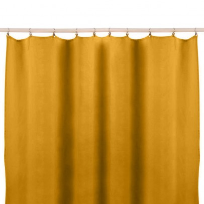 Lab Washed Linen Curtains without Knots-listing
