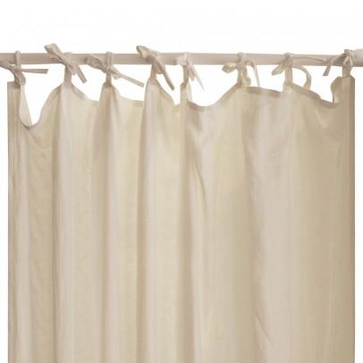 Lab Cortinas en lino lavadas con lazos-product
