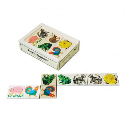 Atelier Fischer Tiere Domino -listing