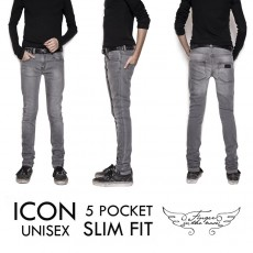 Finger in the nose Slim Jeans Icon-listing