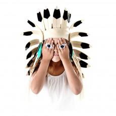 Frida's Tierchen Coiffe d'indien en feutre-listing