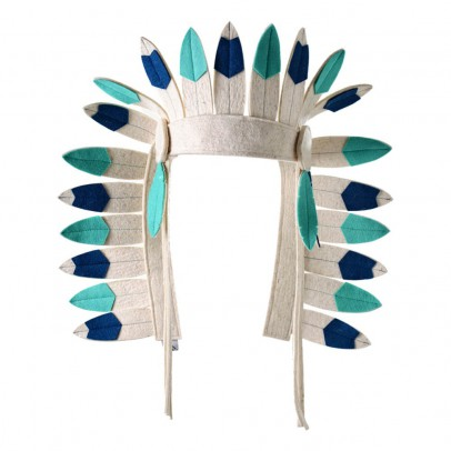 Frida's Tierchen Felt Indian Headdress-listing
