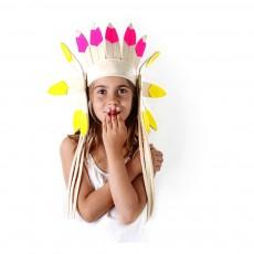 Frida's Tierchen Cabeza de indio corta fieltro-listing