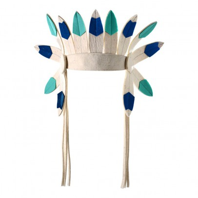 Frida's Tierchen Short Felt Indian Headdress-listing