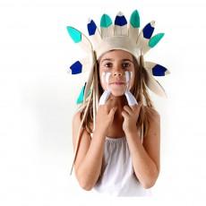 Frida's Tierchen Coiffe d'indien courte en feutre-listing
