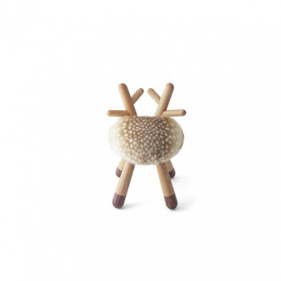 EO - Elements Optimal Bambi Chair in Oak and walnut by Takeshi Sawada-listing