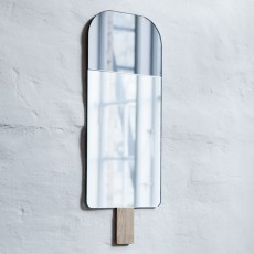 EO - Elements Optimal Miroir Ice Cream par Tor & Nicole Vitner Servé - 22x57 cm-listing