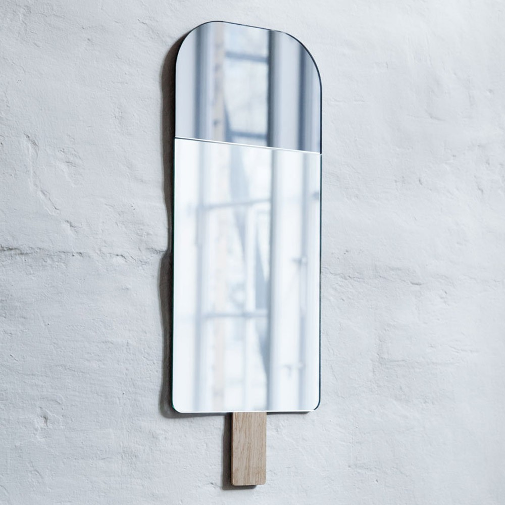 EO - Elements Optimal Miroir Ice Cream par Tor & Nicole Vitner Servé - 22x57 cm-product