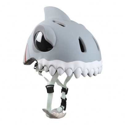 Crazy Safety Casque Requin blanc-listing